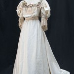 Wedding dress worn by Susie Lindeman as Dolly Wilcox in the Merchant Ivory film Howards End (1992)