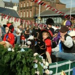 Kids from The Racks at Ascot - Guid Nychburris Parade Dumfries